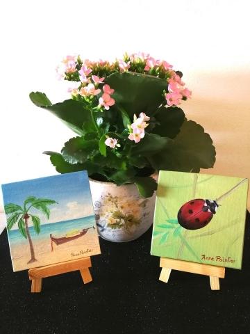 Mini Lienzos - Pintura al óleo