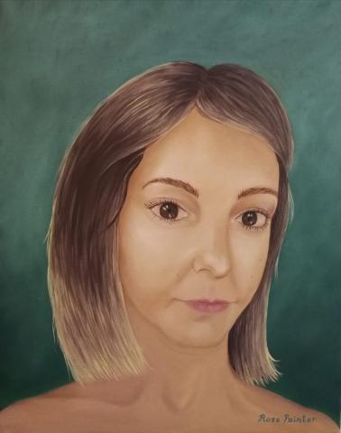 Autorretrato - Pintura al óleo