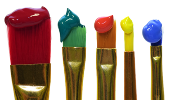 limpiar pinceles óleo