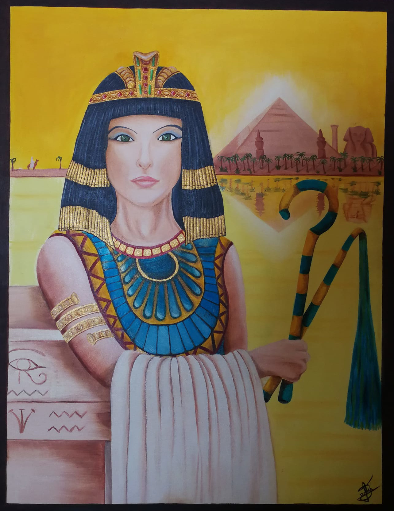 Cleopatra - oil painting