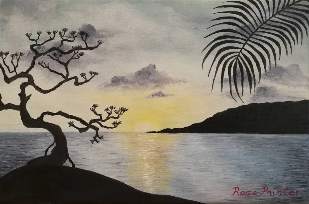 Koh Samui - Oil painting