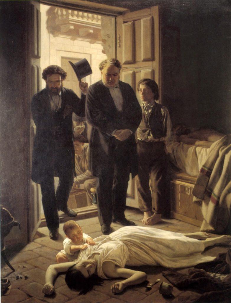 Pandemias e infecciones en el arte