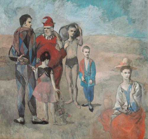 familia circense - picasso