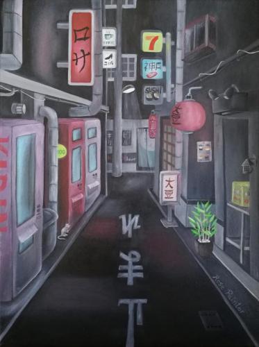 Paseo nocturno por Tokio