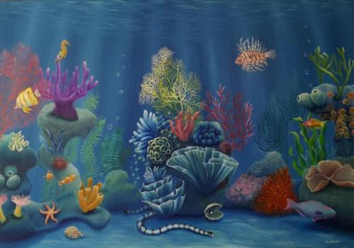 Arrecife idílico