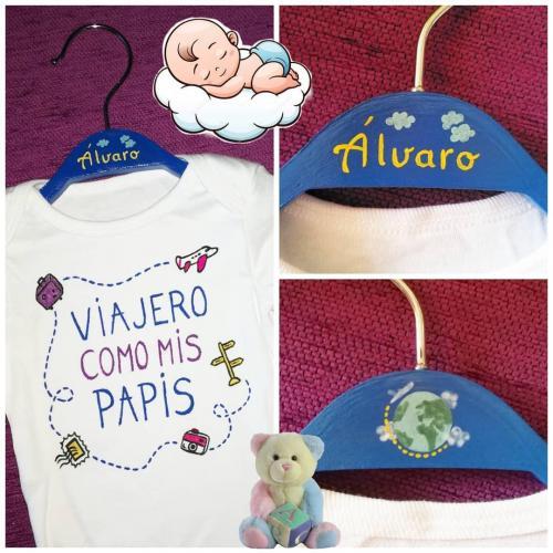 Body y percha bebé personalizados
