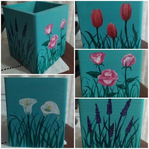 Lapicero flores
